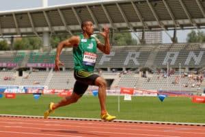 100 m mens sprint