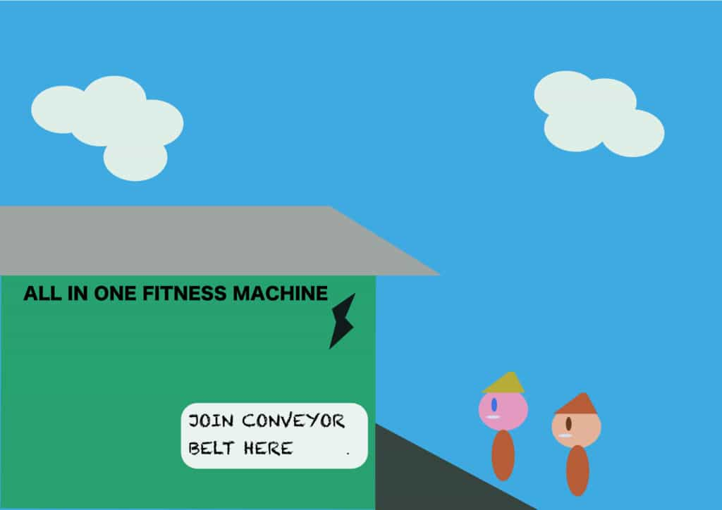 Fitness machine