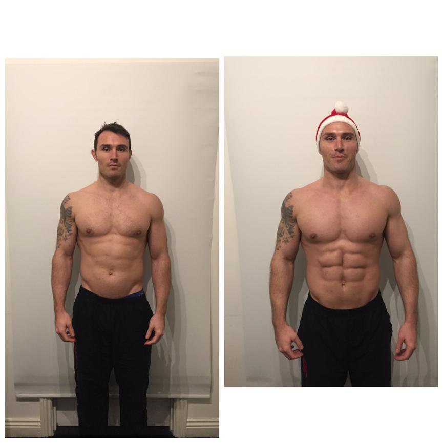 body fat percentage vs muscle mass